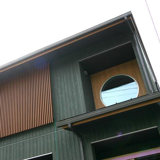 注文住宅|安水建設|愛知県安城市を中心に三河エリアの木造注文住宅・リフォーム丸窓+格子