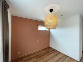 マイ・カリフォルニアスタイルの家 寝室