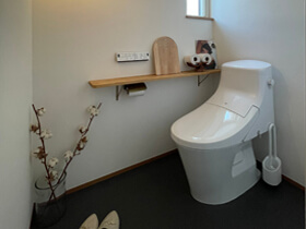 マイ・カリフォルニアスタイルの家 トイレ