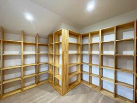 和の心地よさがある家 書庫