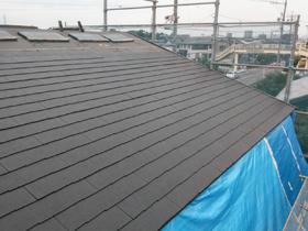 好きなことに浸れる家 屋根工事
