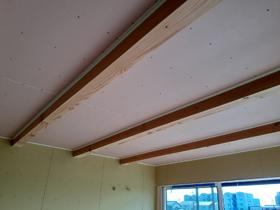 ひかりとかぜの心地よい家 天井造作